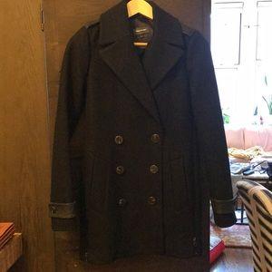 Mackage XXS black double breasted coat
